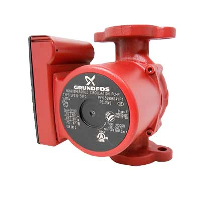 Circulator pumps and flanges product category